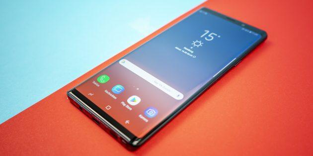 Лучшие Android-смартфоны 2018: Samsung Galaxy Note 9
