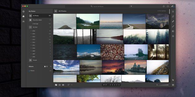 Как организовать коллекцию фотографий: Adobe Lightroom