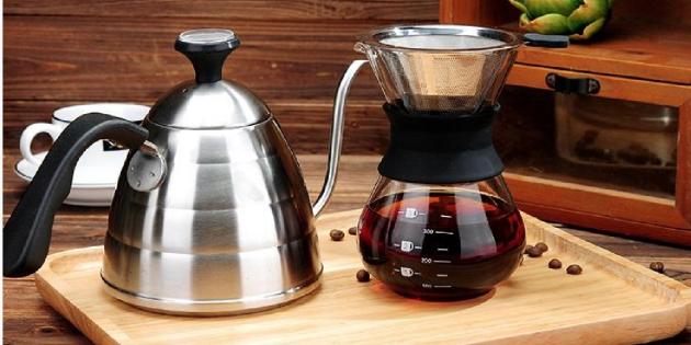 Ручная кофеварка