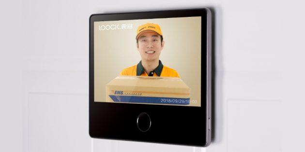 дверной глазок Xiaomi: Видеосообщение