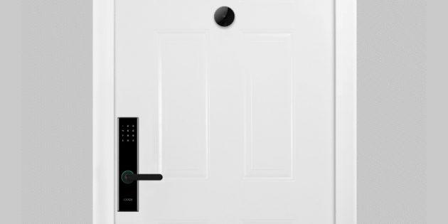 дверной глазок Xiaomi: умный замок
