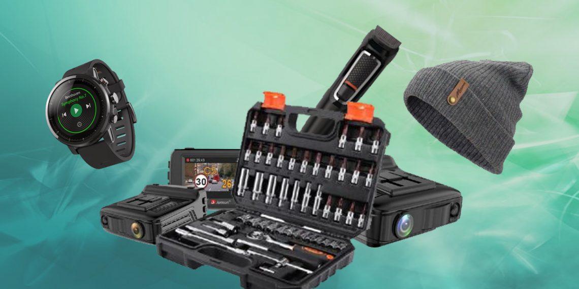Всё для мужика: магнитный держатель, MP3-модуль и налобный ...