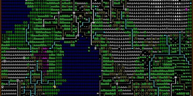 Самые сложные компьютерные игры: Dwarf Fortress