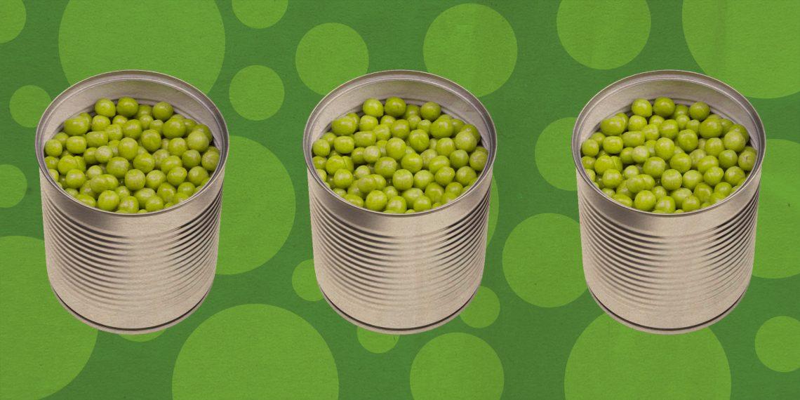 салат с зеленым горошком вкусный