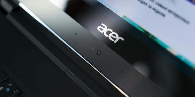 Acer Swift 7: Камера