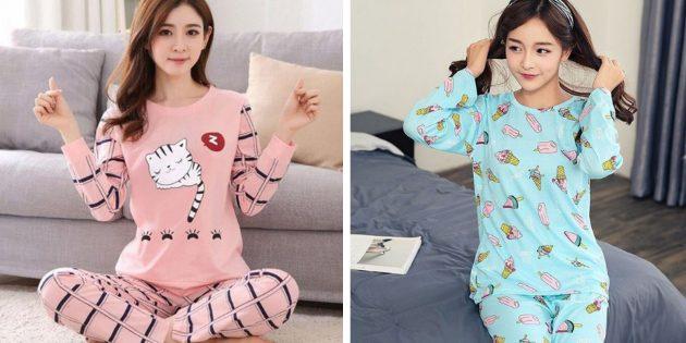 Пижамы для неё