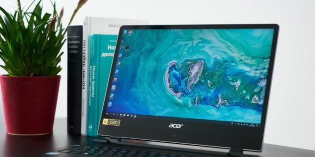 Acer Swift 7: Экран
