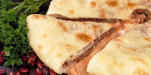 Рецепты: осетинские пироги с фасолью