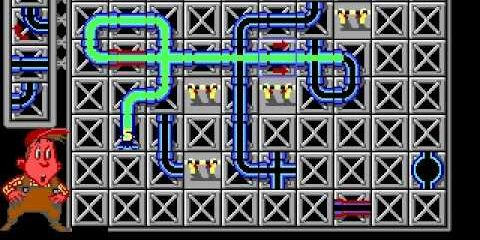 Классические игры для Android и iOS: Pipe Mania