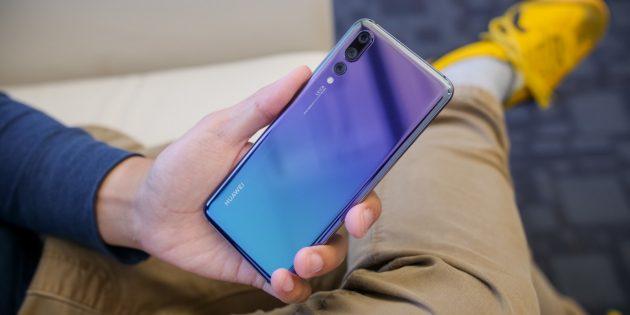 Лучшие Android-смартфоны 2018: Huawei P20Pro
