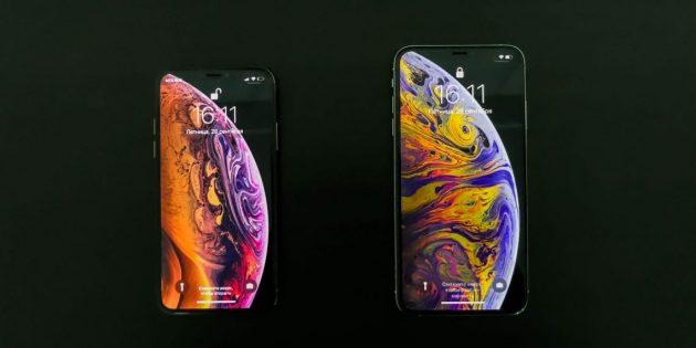 Гаджеты 2018года: iPhone XS и XS Max