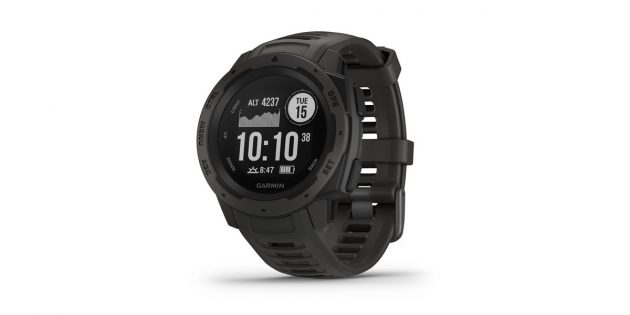 Что подарить на Новый год: спортивные часы Garmin Instinct