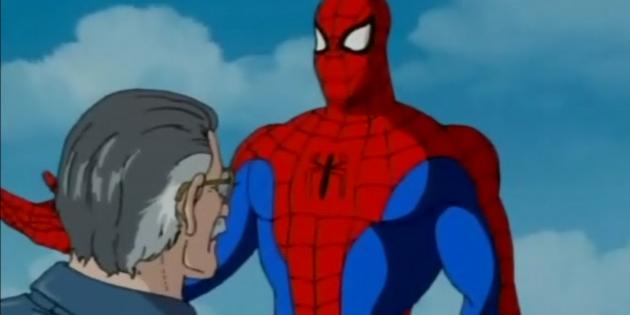 Камео Стэна Ли в мультсериале «Человек-паук» 1994 года
