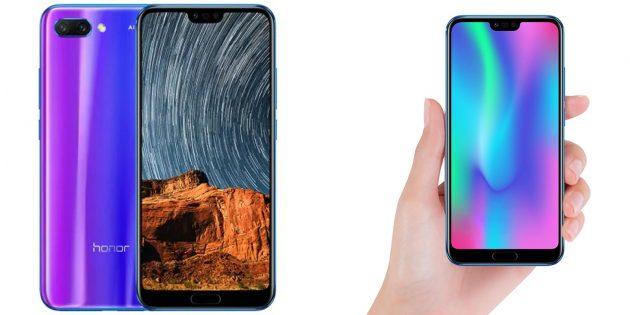 Самые популярные запросы 2018: Huawei Honor 10