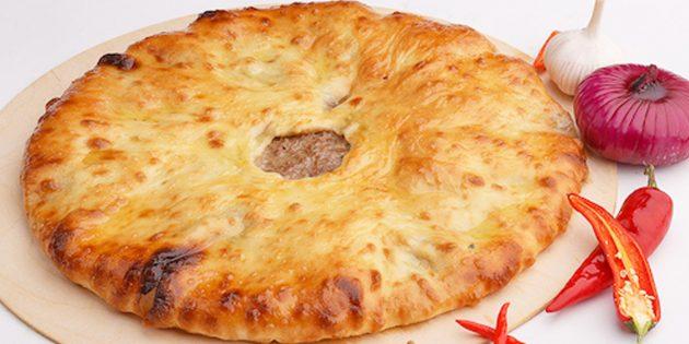 Рецепты: осетинские пироги с мясом