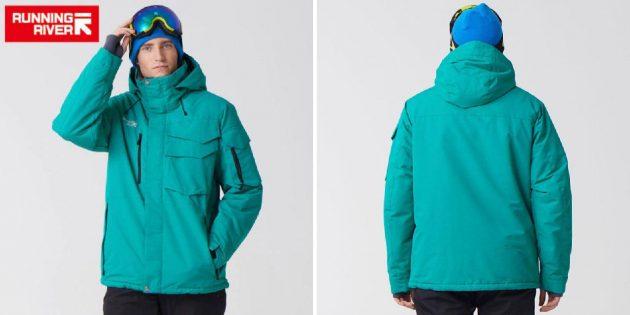 Всё для мужика: горнолыжная куртка