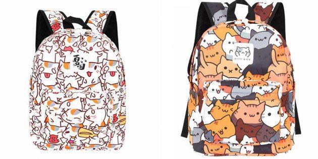 Рюкзак с котами