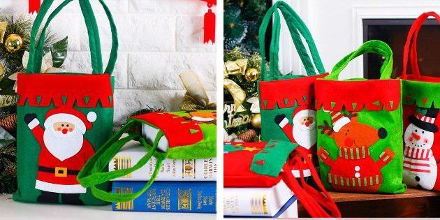 Новогодние сумки