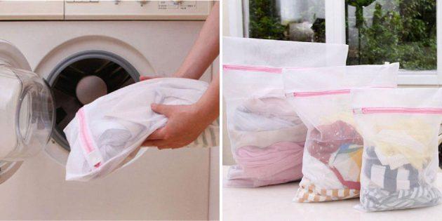 Мешки для стирки вещей