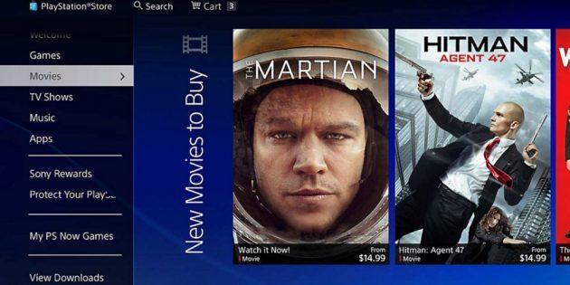 Xbox или Playstation: возможность просмотра фильмов