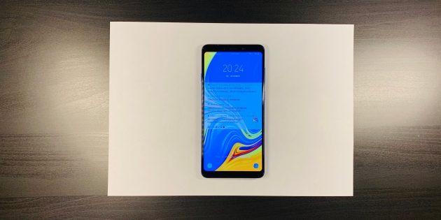 Samsung Galaxy A9: Рамки