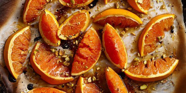Простые вкусные десерты: печёные апельсины