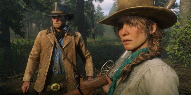 Red Dead Redemption 2: геймплей