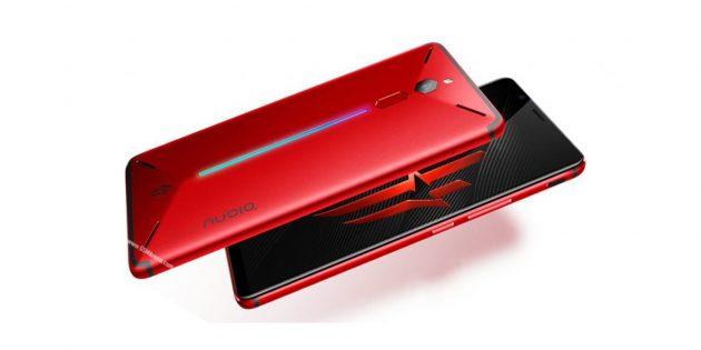 Смартфоны ноября-2018: ZTE Nubia Red Magic Mars