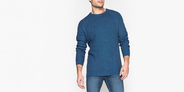 Пуловер с круглым вырезом La Redoute Collections
