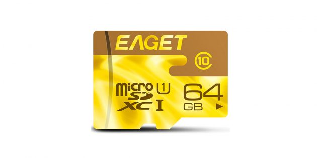 Eaget microSDHC F2