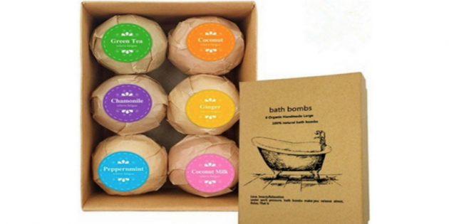 Соляные бомбочки для ванны