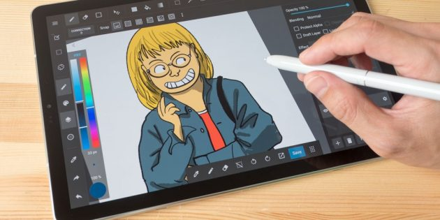 Почему планшеты актуальны: Рисование
