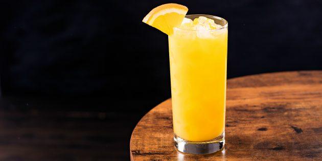 коктейли с водкой: отвёртка