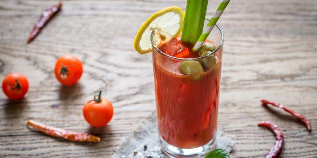 коктейль Кровавая Мэри: простой рецепт