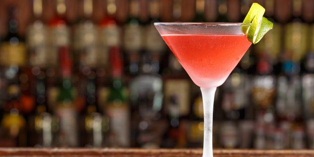 коктейль космополитен: простой рецепт