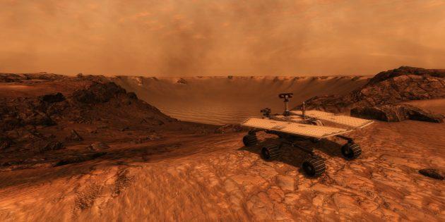 Игры про космос: Take On Mars