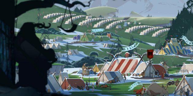 Игры про викингов: The Banner Saga