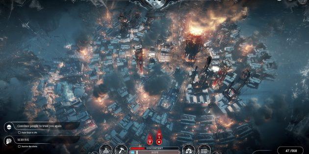 Топ инди-игр 2018: IFrostpunk
