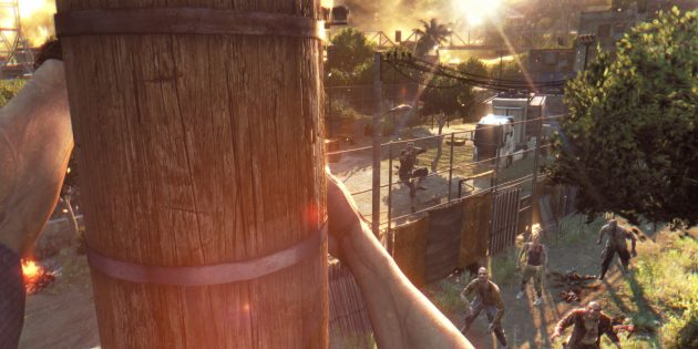 Игры про зомби: Dying Light