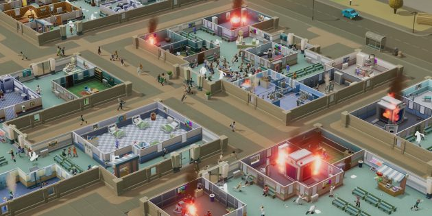 Топ инди-игр 2018: Two Point Hospital