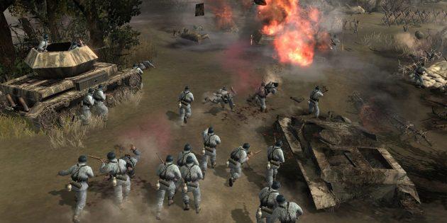 Игры про войну: Company of Heroes