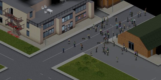 Игры про зомби: Project Zomboid