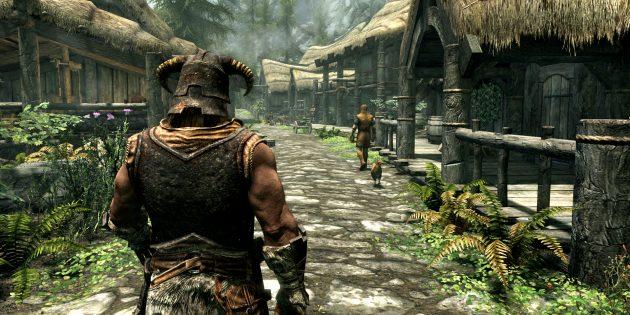 Игры про викингов: The Elder Scrolls V: Skyrim