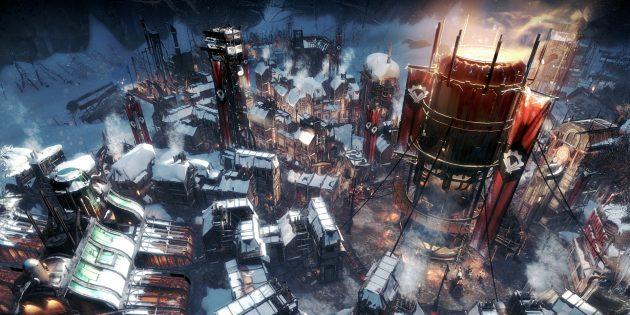 Игры про выживание: Frostpunk