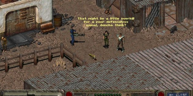 Игра Fallout: A Post Nuclear Role Playing Game
