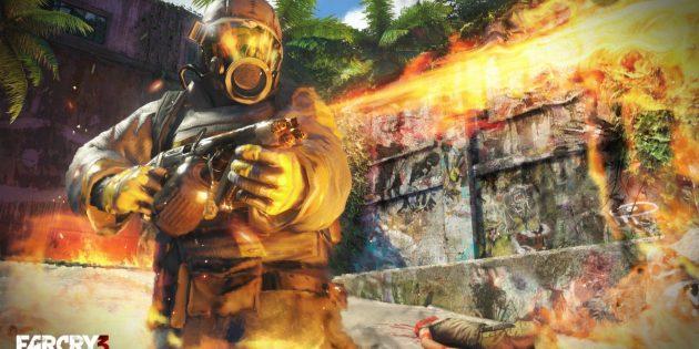 Шутеры с сюжетом: Far Cry 3 (из огнемёта)
