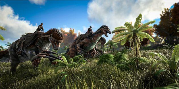 Игры про выживание: ARK: Survival Evolved