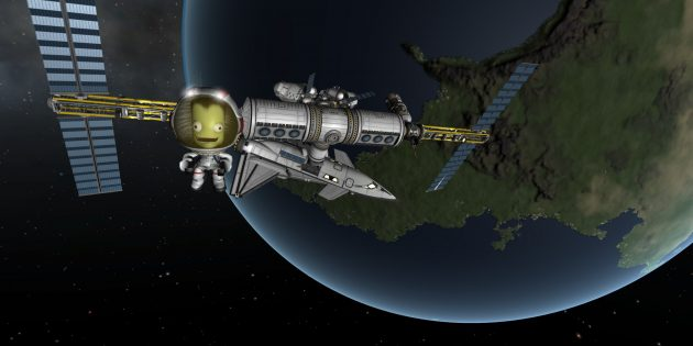 Игры про космос: Kerbal Space Program