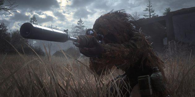 Игры про войну: Call of Duty 4: Modern Warfare
