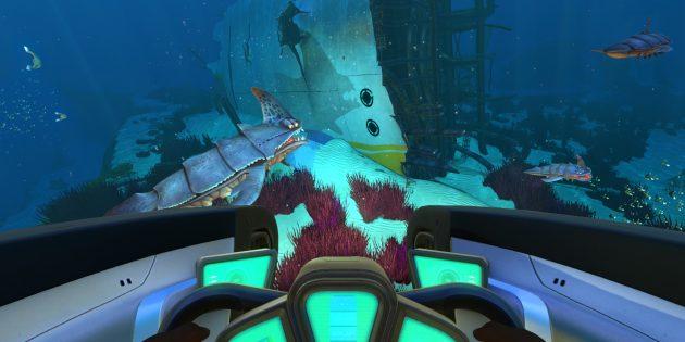 Игры про выживание: Subnautica